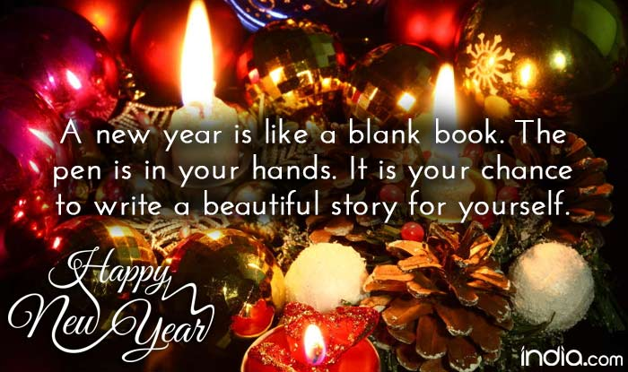 A Happy New Year – 2018 – Malcolm Marsh – Author